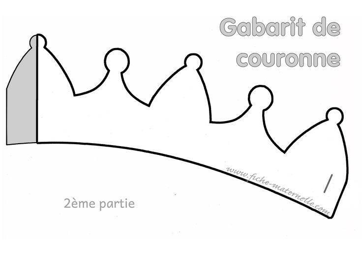 Gabarit pour fabriquer une couronne