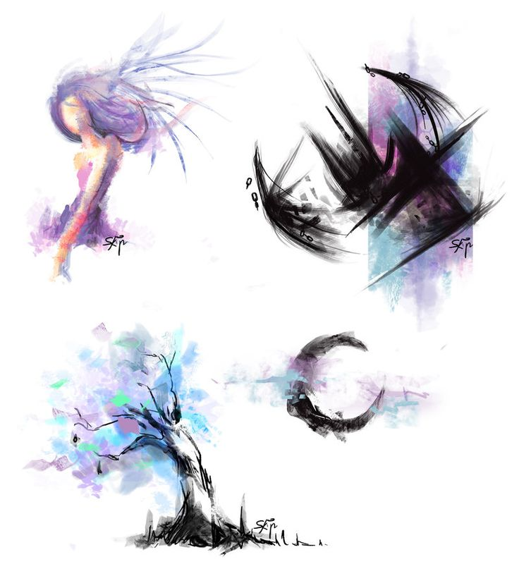 watercolor tattoos | Watercolor Tattoo Design by *SkipThatBeat on deviantART