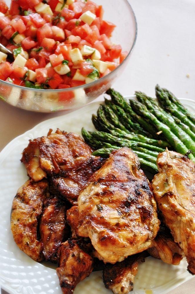 Grillowane Faszerowane piersi kurczaka