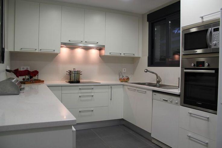 Dise o de cocina dise o de cocinas en getafe madrid - Cocinas en blanco ...