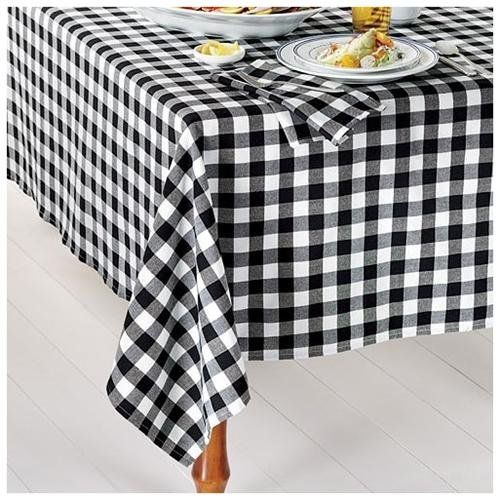 17 Best Images About Black And White Striped Tablecloth On