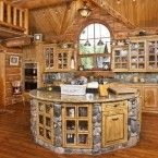 Build a Log Home and Make a Dream Kitchen