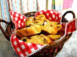 Lättbakat foccaciabröd med oliver (kock Per Morberg)