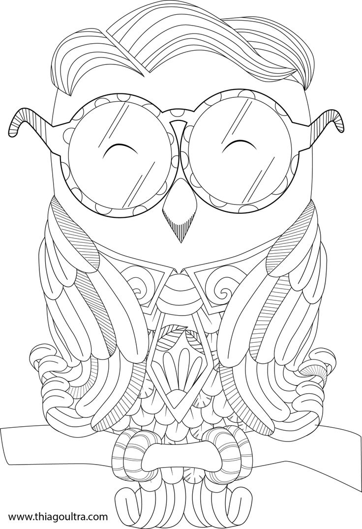 coruja certinha 01 adult coloringcolouringcoloring pagesowlwood