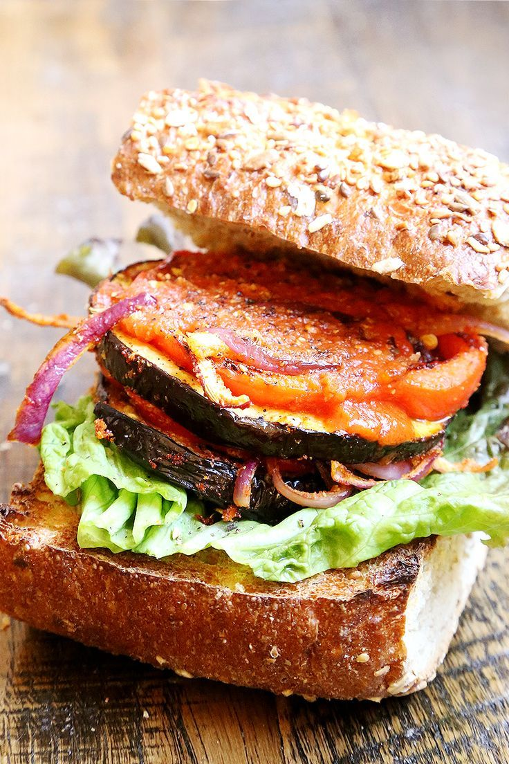food friday: vegetarische hamburger met aubergine | Feel Magazine