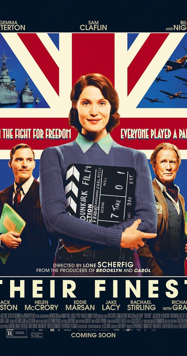 Directed by Lone Scherfig.  With Gemma Arterton, Sam Claflin, Bill Nighy, Jack Huston. A British film crew attempts to boost morale during World War II by making a propaganda film after the Blitzkrieg.