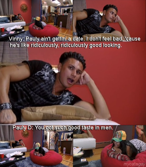 I love vinny and pauly's relationship