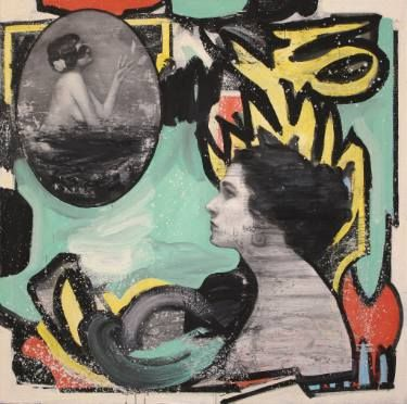 "Saatchi Art Artist Kjetil Jul; Painting, ""Sneak Peak"" #art"