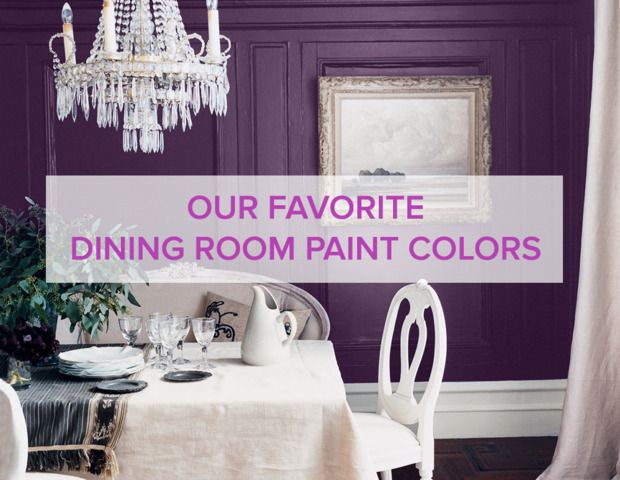 purple dining room    dining room paint colors