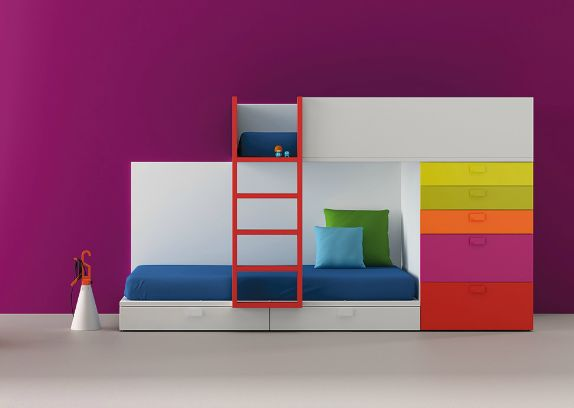 Amazing bunk bed - BM2000 via Kickcan & Conkers