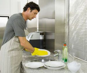 Do your everyday activities. You can burn serious calories by doing enough dishwashing, vacuuming and gardening.