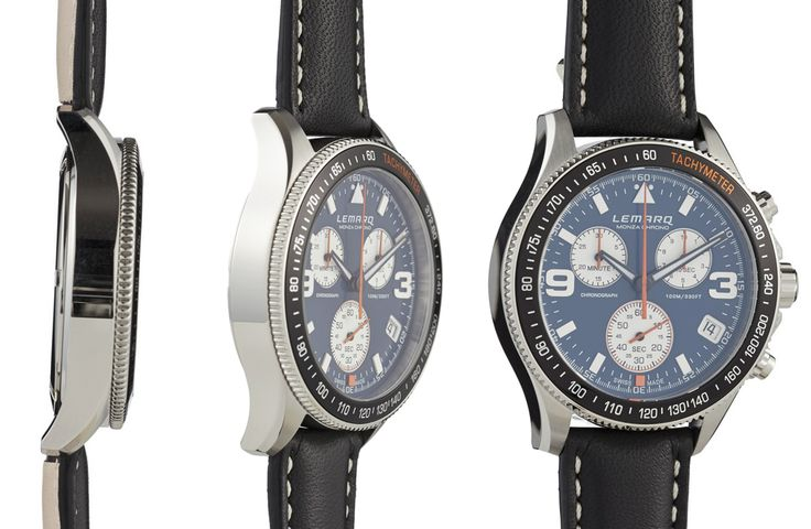 Motorsports and cars are the inspiration for LEMARQ. Order your Monza Chrono at www.lemarqwatches.com.