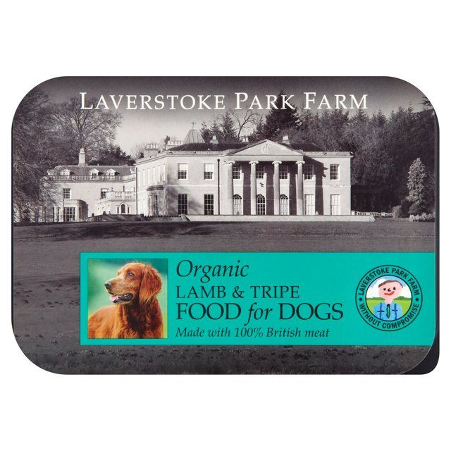Laverstoke Organic Lamb with Tripe Formula Raw Dog Food 500g from Ocado
