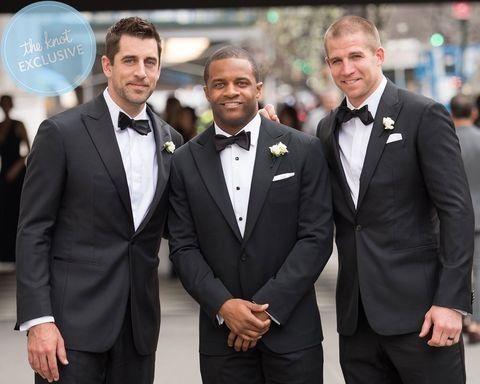 Randall Cobb's wedding April 2017