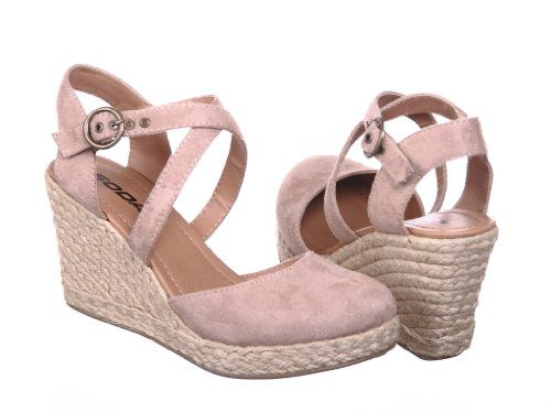 Amazon Com New Closed Toe Wedges Sandals Shoes My