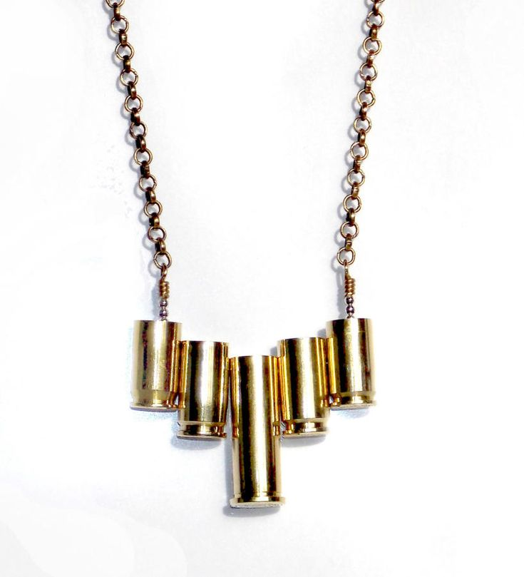 Deco Shell Casings Necklace by spaghettiwestern