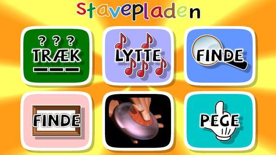 Stavepladen koster 25 kr og er en danskudviklet app til 0. - 1. klasse. Man lærer at læse,stave og genkende ord og bogstaver på mange forskellige måder. Der er over 120 ord i appen.