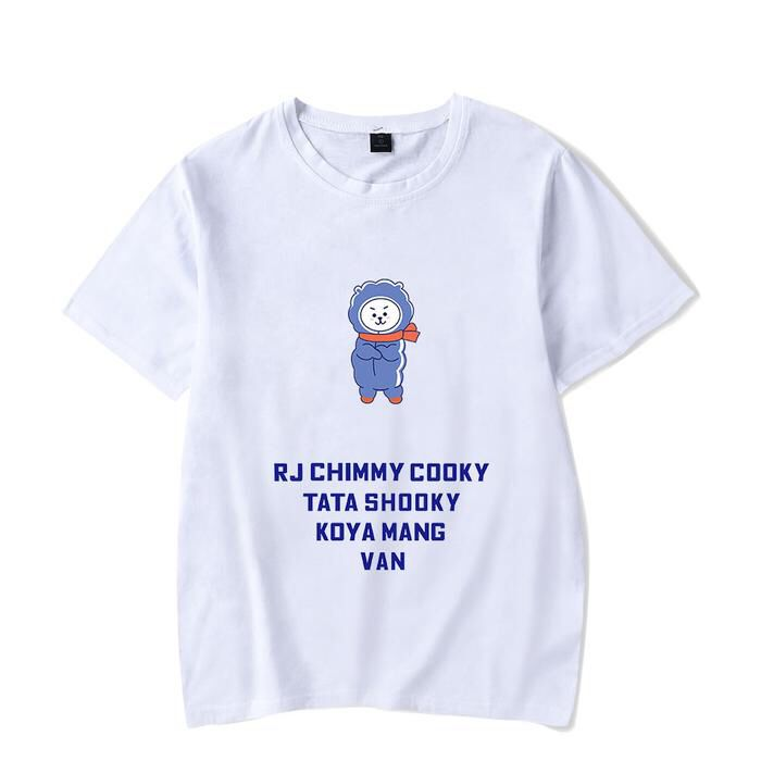0fc3c75f8dde 2019 的 BT21 T-Shirts  AliKpop  BTS  BT21  CHIMMY  COOKY  TATA  MANG ...