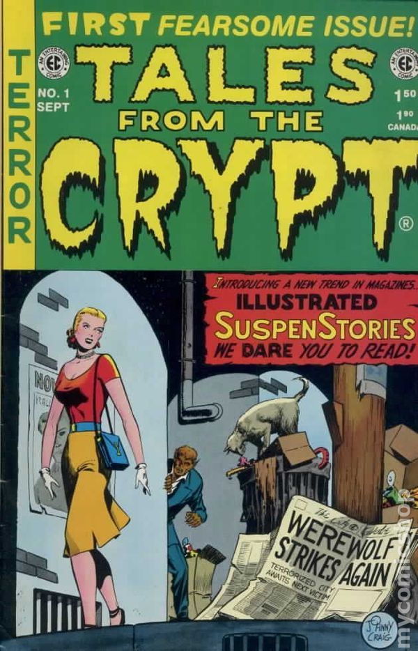 Worlds of Fear #10: Terrorizing Comic Book Tales from 1953
