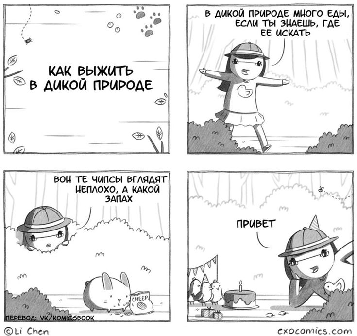 Смешные комиксы,веб-комиксы с юмором и их переводы,дикая природа,приколы про еду,Extra Ordinary Comics