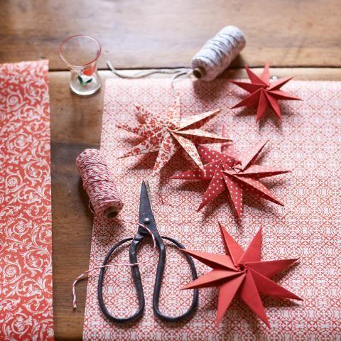 deko mit sternen ideen zu weihnachten und selber machen weihnachten. Black Bedroom Furniture Sets. Home Design Ideas