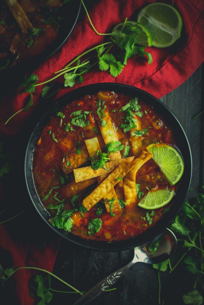 Soupa De Lima (aka lime soup)