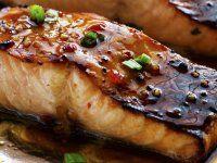 Édes Chili Mázas Lazac Steak