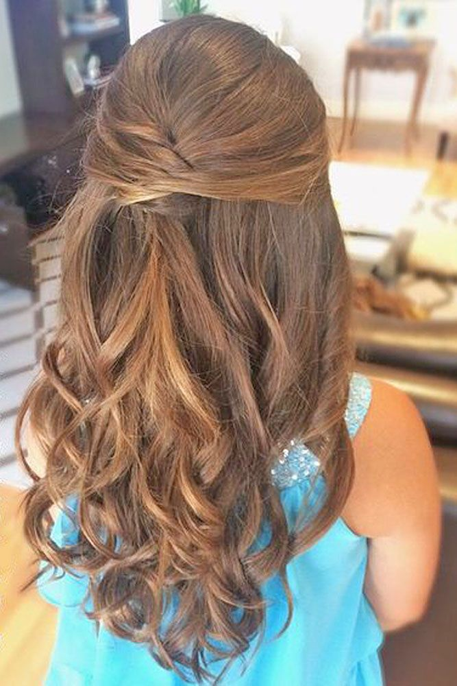 Best 25 Junior bridesmaid hairstyles ideas on Pinterest  Waterfall hair Braids for little