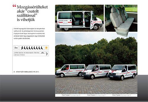 Aranyszív Ambulance Betegszállítás: Download PDF