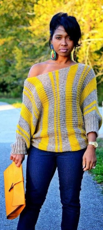 6 Casual plus size winter outfits - women-outfits.com