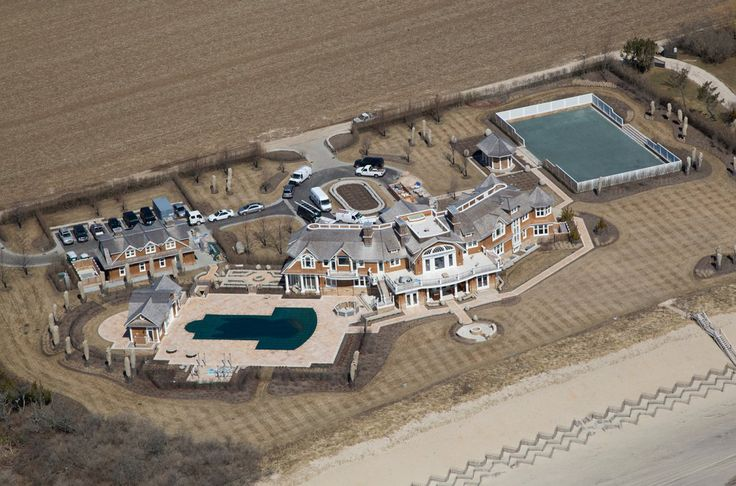 Billionaire David Tepper's Completed Hamptons Estate