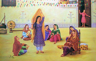 female gathering
