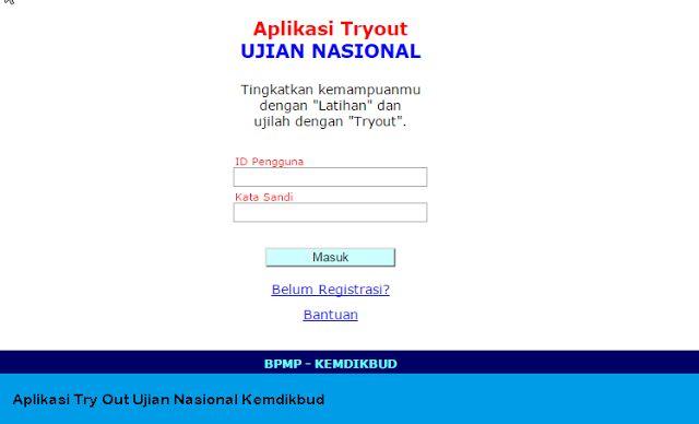 Aplikasi Latihan Ujian Try Out Ujian Nasional Kemdibud  Aplikasi Latihan Ujian Try Out Ujian Nasional Kemdibud - Latihan Ujian Nasional Online. Kabar gembira untuk Bapak/Ibu yang mempunyai anak yang masih dalam usia sekolah baik untuk jenjang SMP SMA SMK dan MA karena pada kesempatan yang baik ini Kemdikbud masih peduli kepada seluruh Rakyat Indonesia Terutama dalam bidang Pendidikan.  Lihat juga :  Kisi-kisi ujian Nasional SMP SMA SMK Tahun 2015/2016  Ralat Kisi-kisi Ujian Nasional PAKET C…