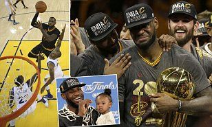 LeBron James and the Cavaliers pulled off an improbable NBA Finals comeback, giving Cleveland a title again as they beat defending champions Golden State Warriors 93-89.