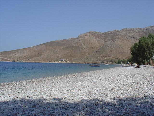 Eristos beach, Tilos Island, Dodecanese, Greece. - Selected by www.oiamansion.com