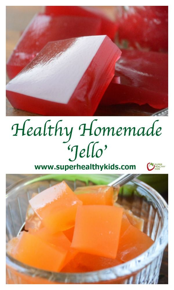All Natural Homemade Fruit Juice 'Jello'. No more from the box jello with added sugars and artificial ingredients! http://www.superhealthykids.com/healthy-homemade-jello-recipe/