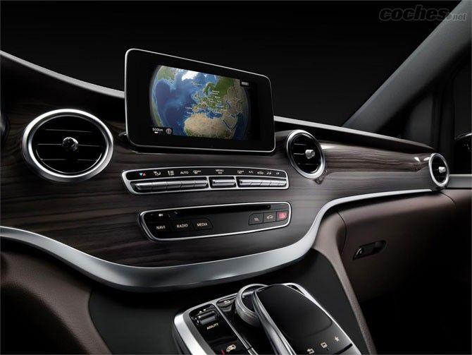 Mercedes Clase V, amplio y funcional