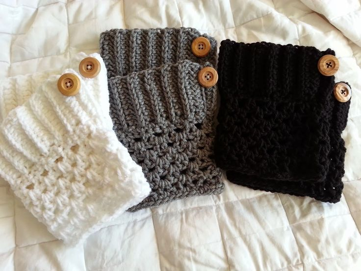 Crochet from J: Boot Cuffs Pattern