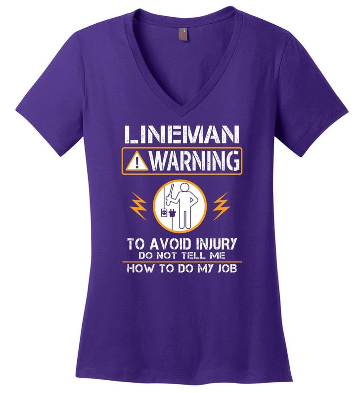 Lineman Warning Hoodie Funny Lineman Shirts Power Lineman Hoodies Sweatshirt And Woman V-Neck
