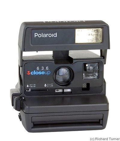 Polaroid: Polaroid 636 Close Up camera