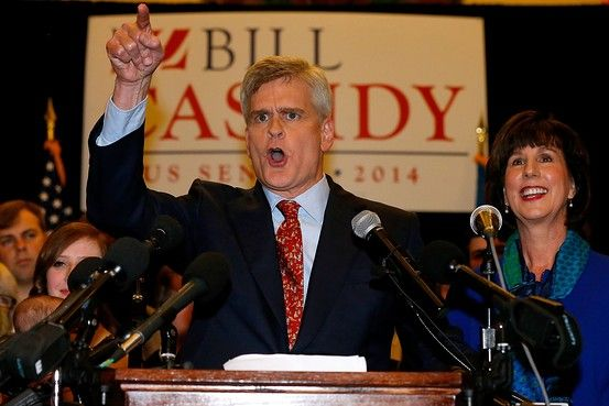 Democratic Sen. Mary Landrieu Ousted in Louisiana Election by Republican Rep. Bill Cassidy - WSJ