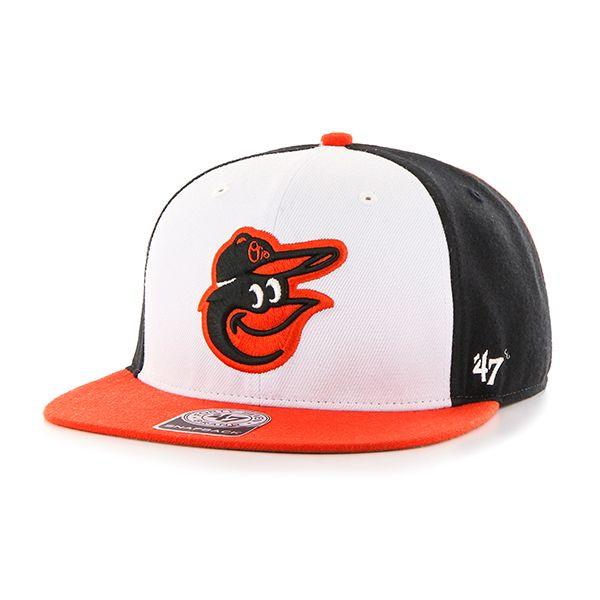 47 Unisex MLB Baltimore Orioles Sure Shot Captain Baseball Cap 47 Brand N1xhY