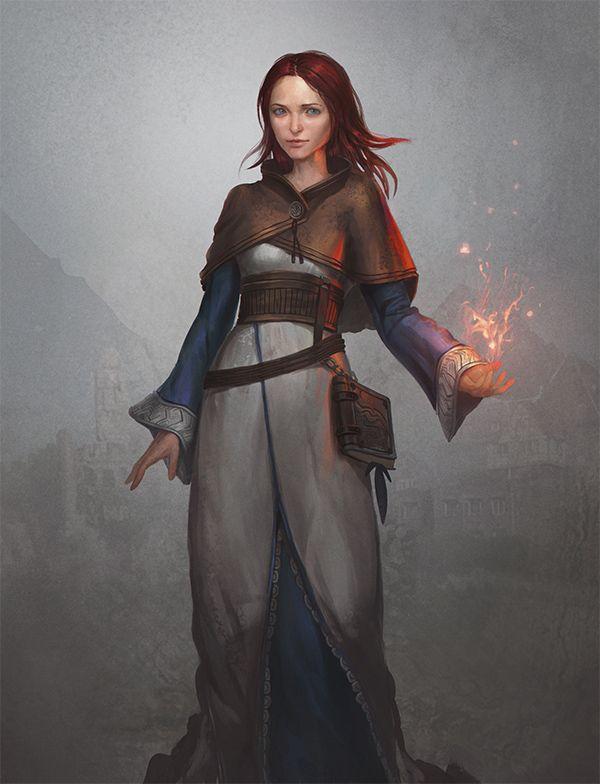 Scarlett Hywel by GerryArthur.deviantart.com on @DeviantArt
