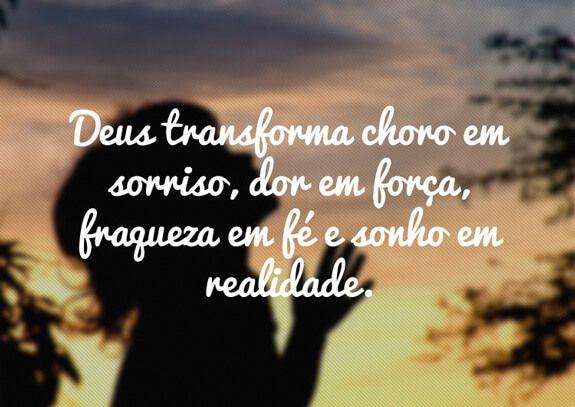 frases de jesus deus transforma