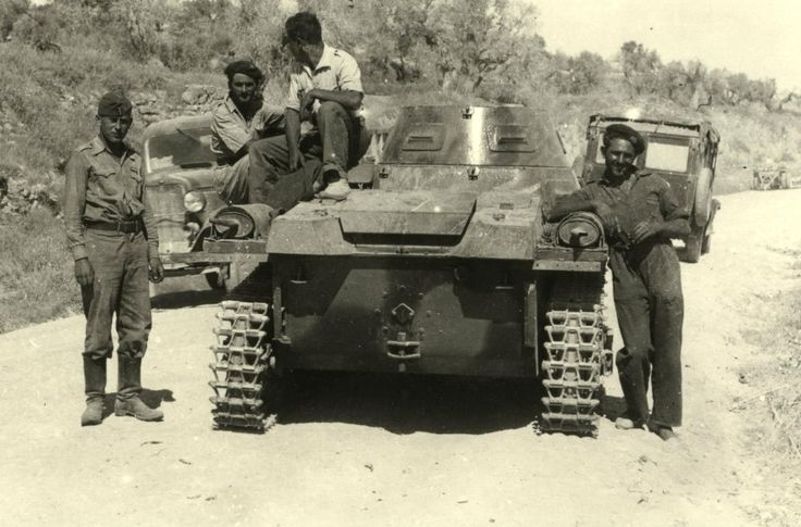 The same PzKpfw I Ausf A of Panzergruppe Drohne (drone) in the Spanish Civil War 1936-1939.