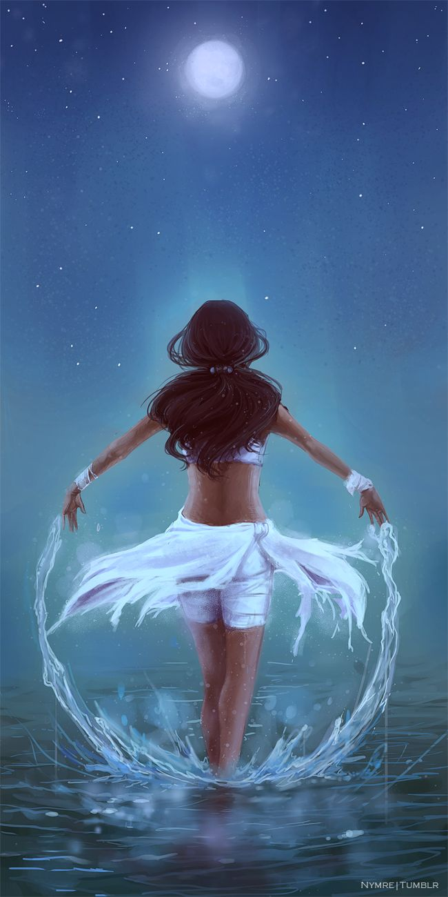 I Rise With The Moon by *Nymre on deviantART  Thought I posted this already?