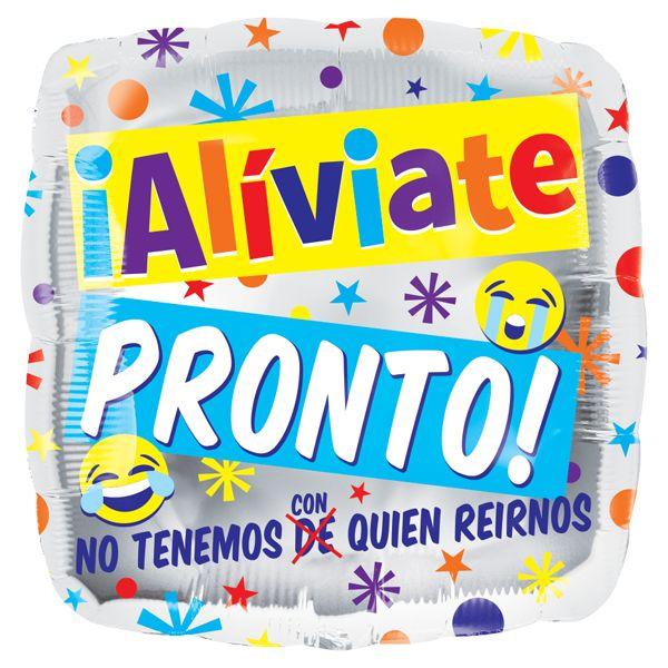 """Globos Metalizados #Aliviate #Pronto Emojins 18"""" Siempre hay una #Ocasión!!"""