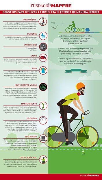 Consejos para utilizar la bicicleta eléctrica de manera segura