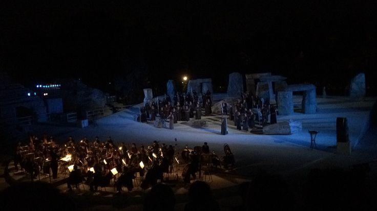 Norma di Bellini al teatro greco di Siracusa #lirica