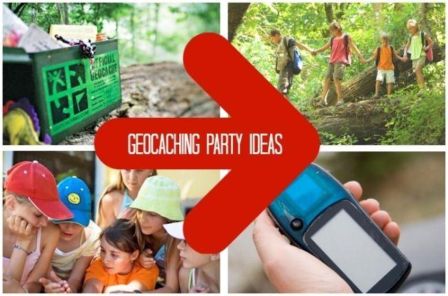 Geocaching Party: Teenage Boy Birthday Ideas - www.spaceshipsandlaserbeams.com